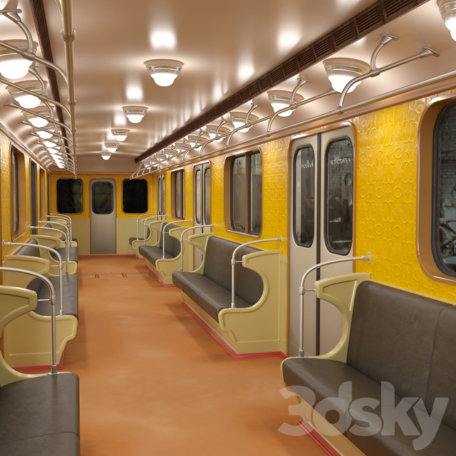 E-series subway car