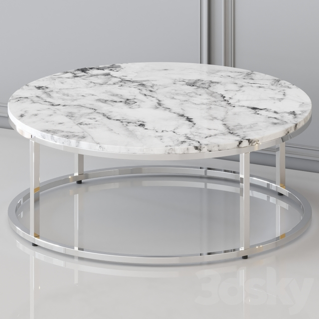 Cb2 - Round Coffee Table