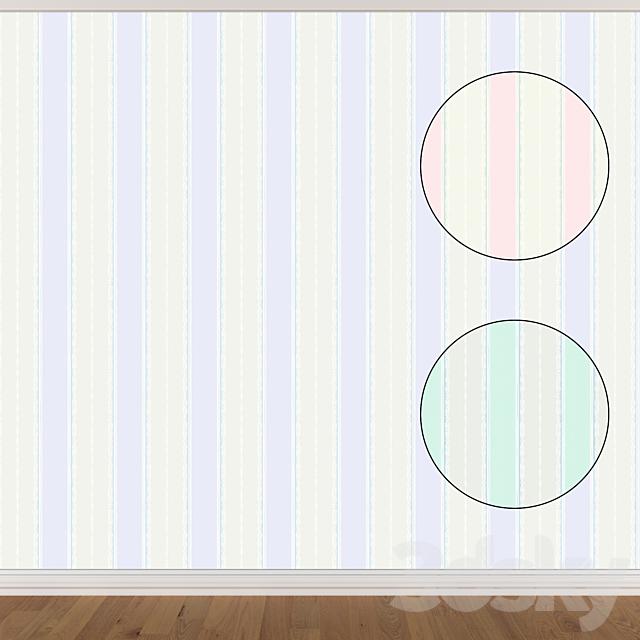 Wallpaper Set 963 (3 colors)