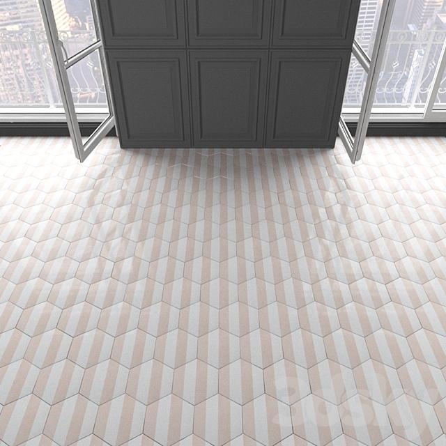 Marrakech Design tile - Claesson Koivisto Rune_hexagon_95