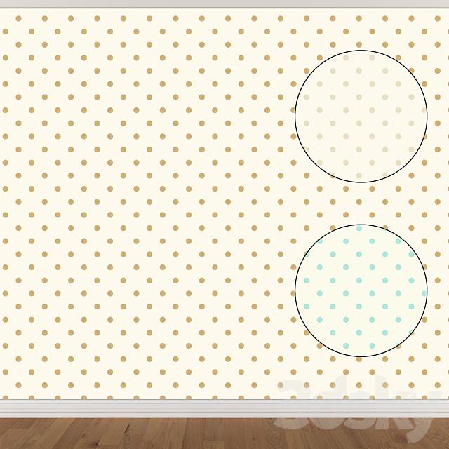 Wallpaper Set 973 (3 colors)