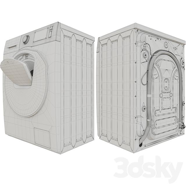 Washer-dryer with AddWash WD5500K