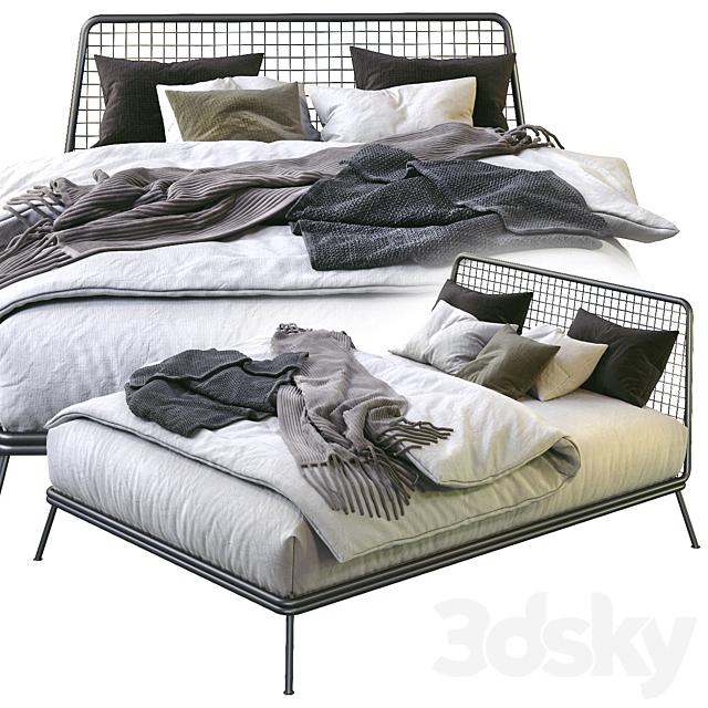 NIANDER MESH BED
