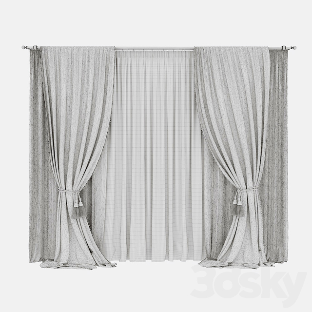 Curtains swalows