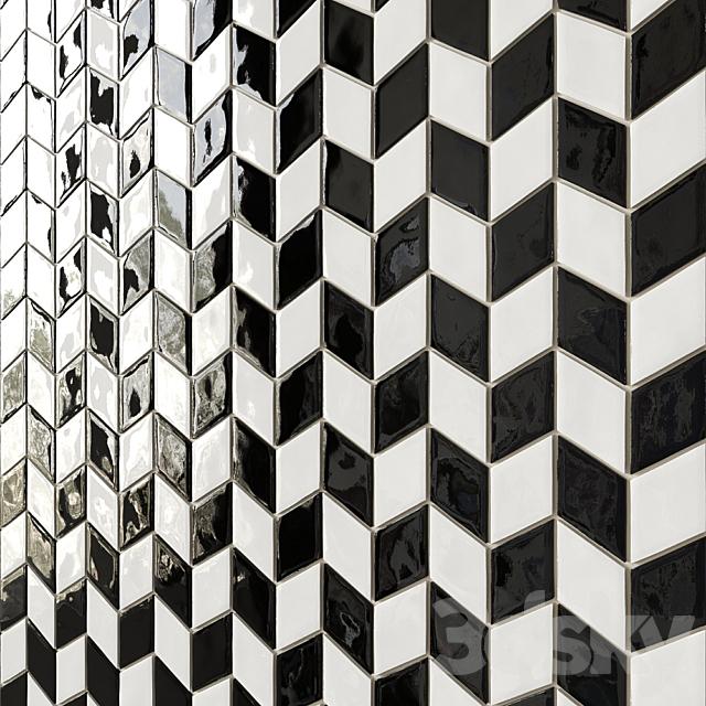 Bijou Chevron Mosaic 3 types