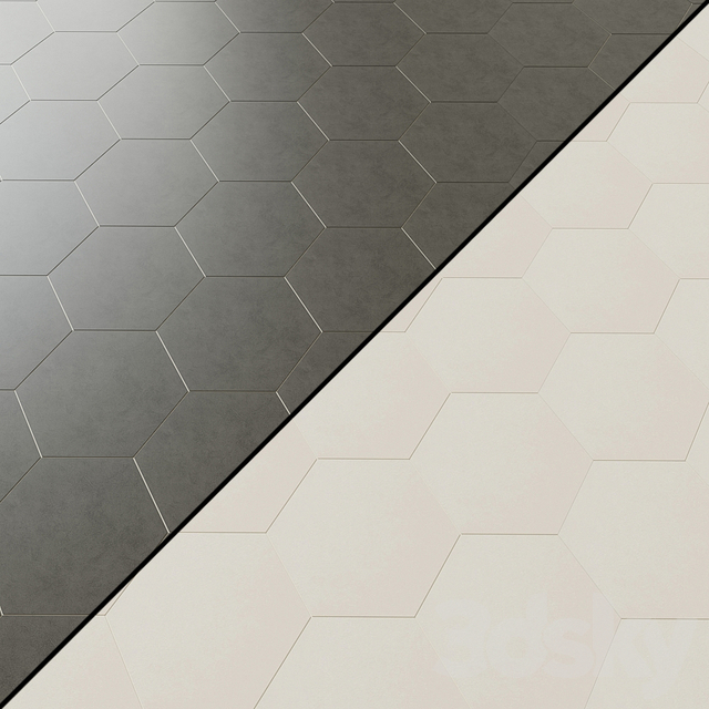 Daltile Bee Hive 6 types