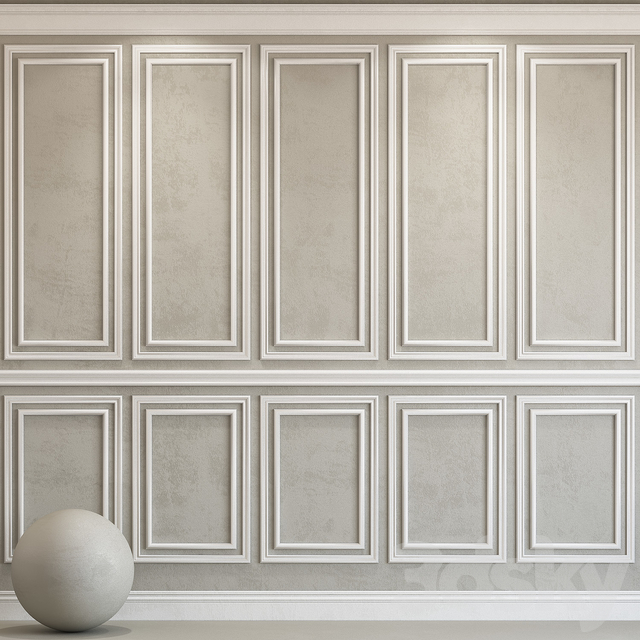 Decorative plaster with molding 78