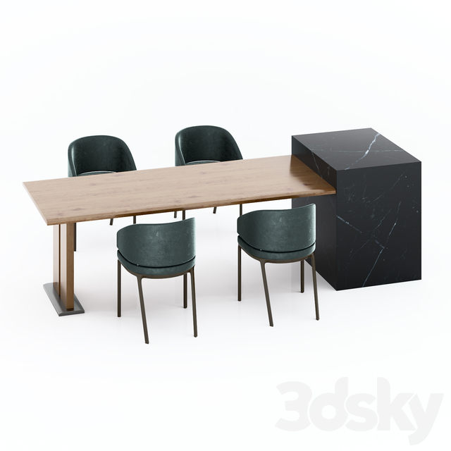 Table and Chair Set_001