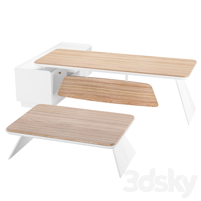 Office wood table