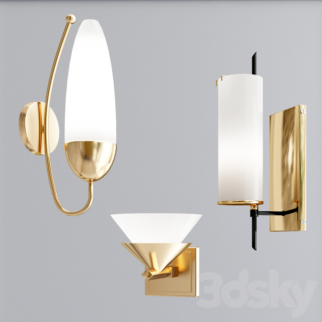 Wall Sconce Collection 1