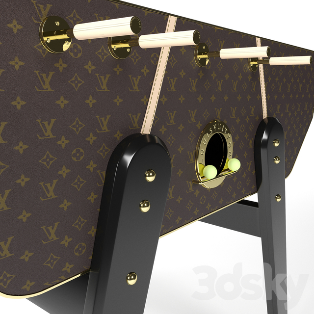 Le Babyfoot Louis Vuitton