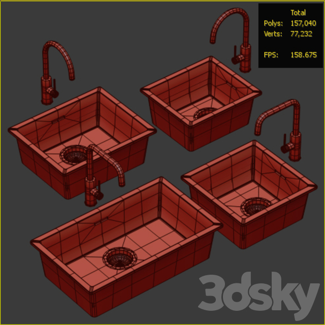 Collection of kitchen sinks 05