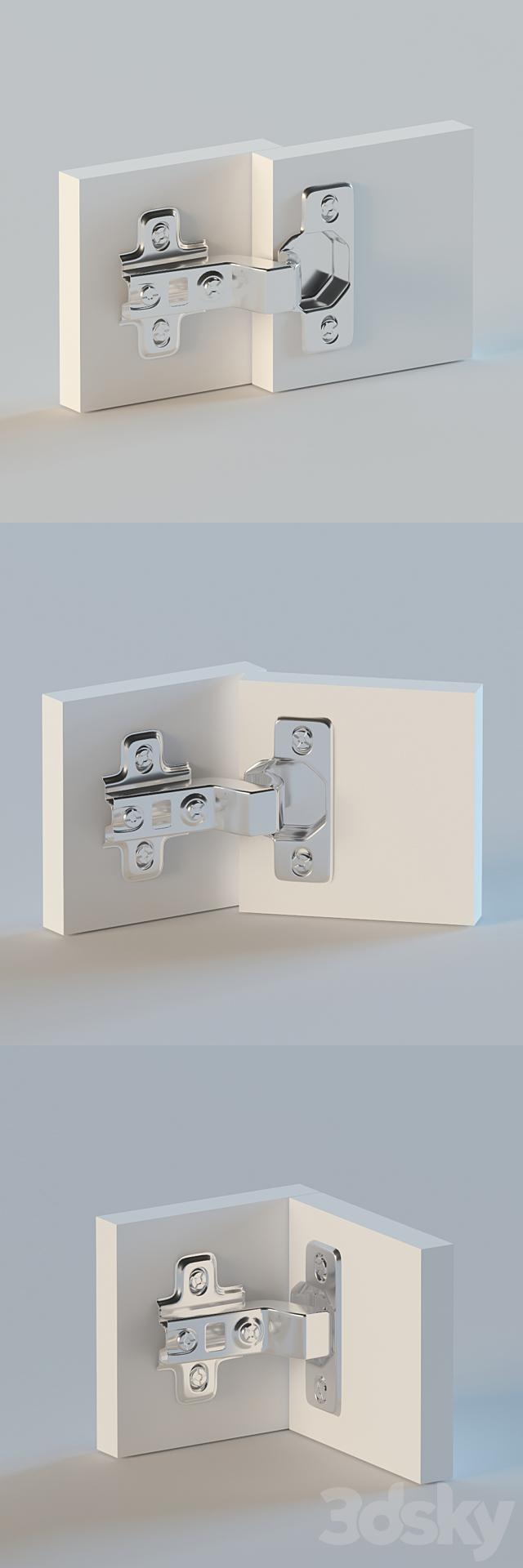 Internal furniture hinge