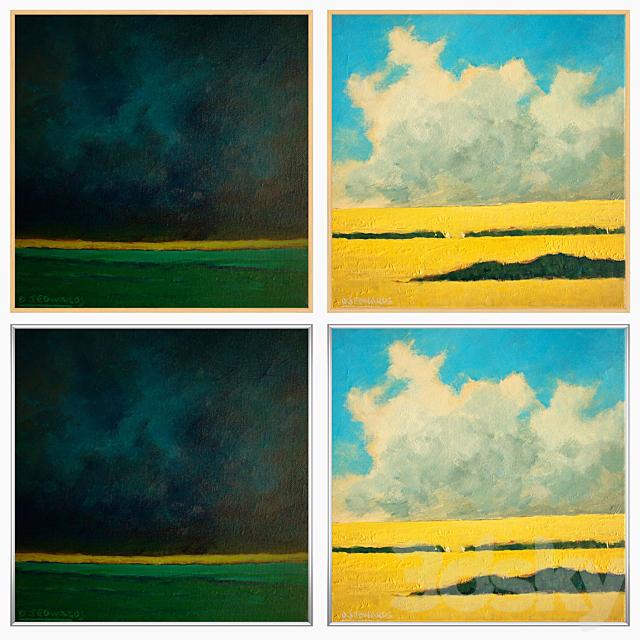 Set of wall paintings No 2206