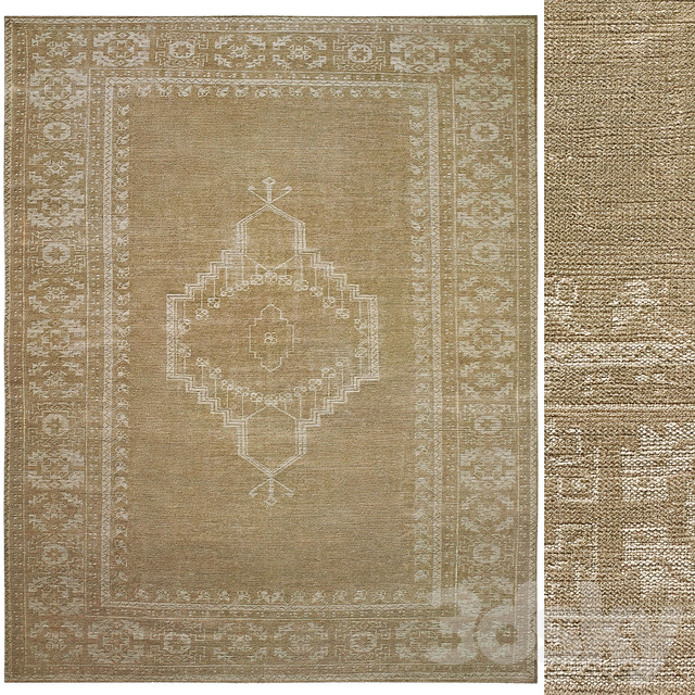Meda Hand-Knotted Wool Rug