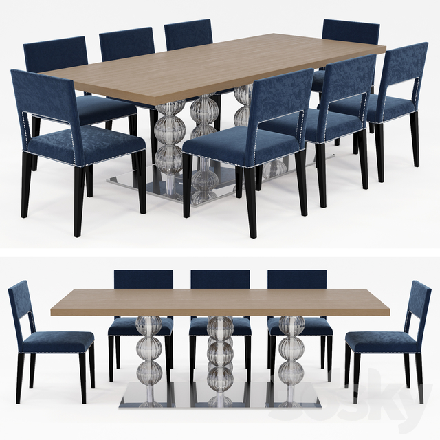 Table and chairs COSTANTINI PIETRO ROYAL