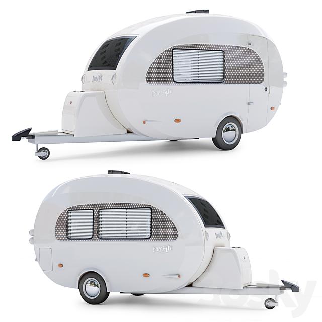 The nuCamp Barefoot Caravan