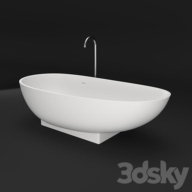 i S tone Freestanding 1800mm Bath Code: IS-WD6510MW