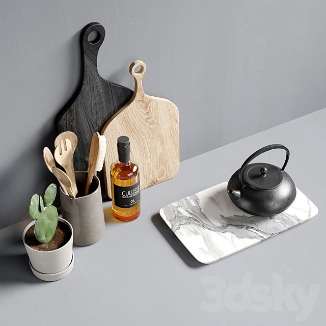 Decorative kitchen set