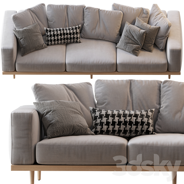 Newport 2-Piece Chaise Sectional 02