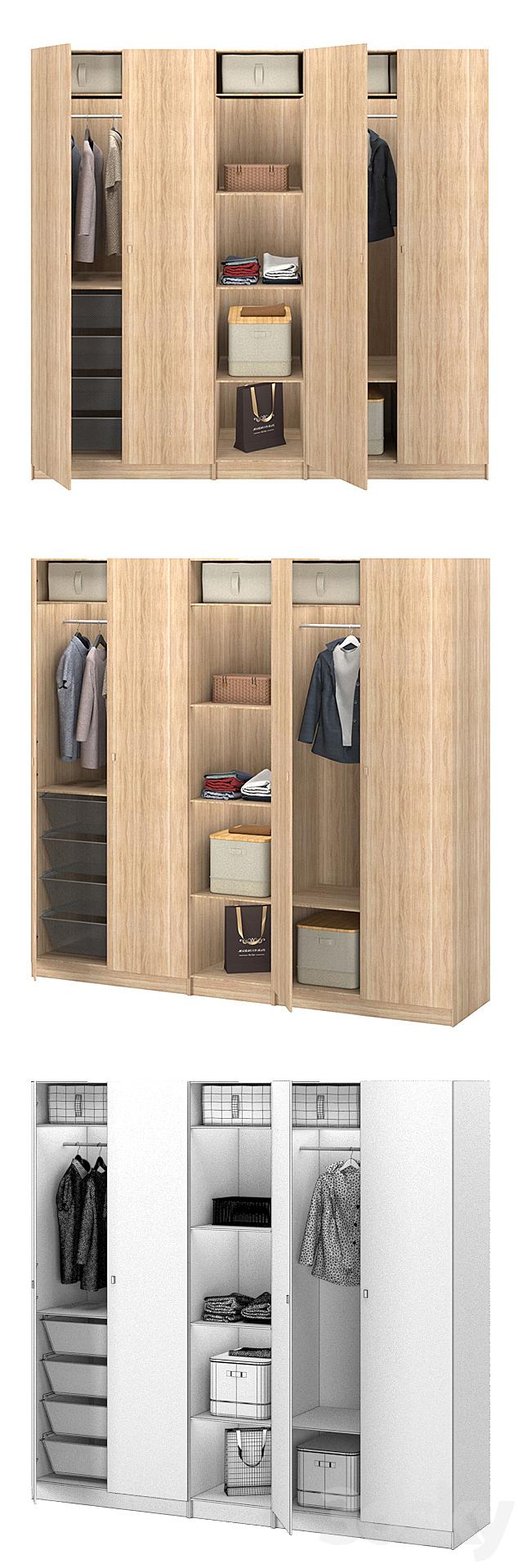Wardrobe_Paks_IKEA_forsan