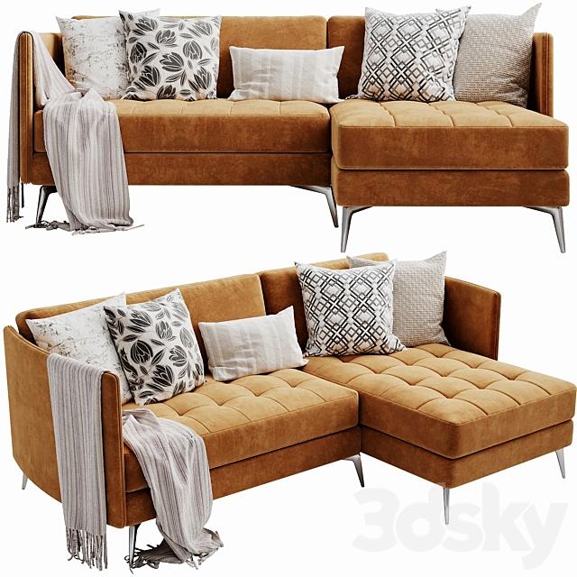 Boconcept OSaka 2 Chaise Lounge