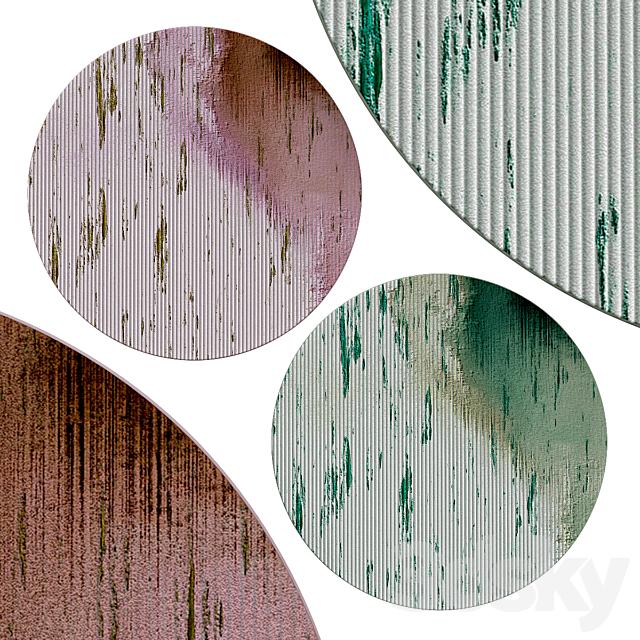 Circle rugs   No. 078