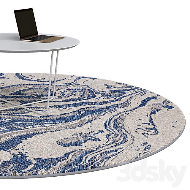 Circle rugs   No. 080