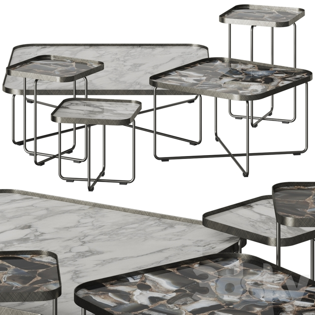 Cattelan Italia Benny Coffee & Side Tables