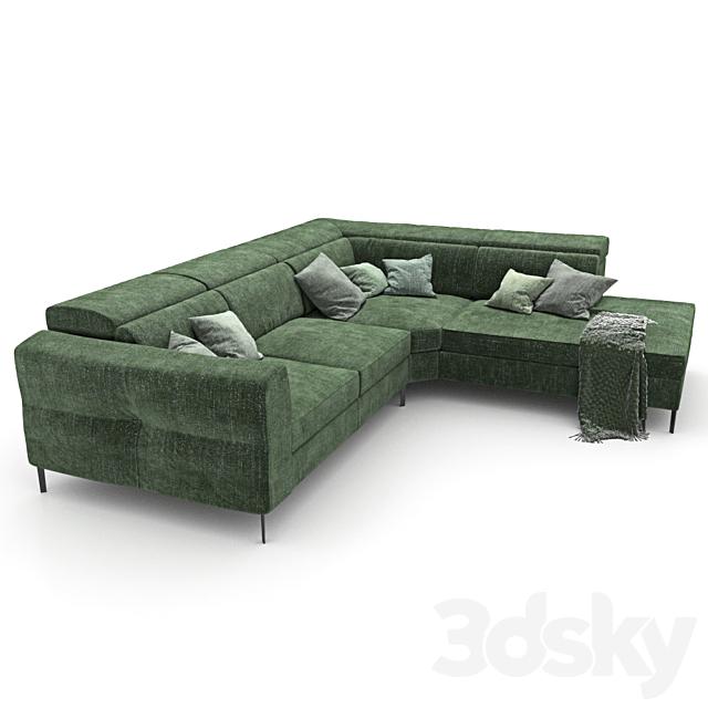 Sofa 459 - Natuzzi_bebop 2900