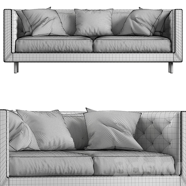 Modern Sofa Styles small Living room №5