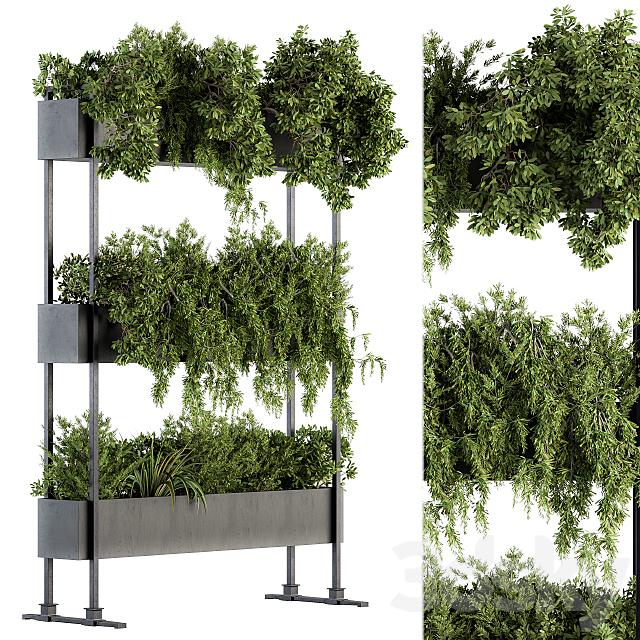 indoor Plant Set 215 -Plant Box Stand