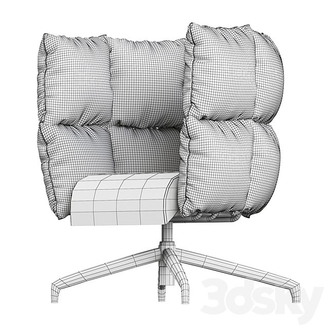 UNDECIDED armchair by Manerba