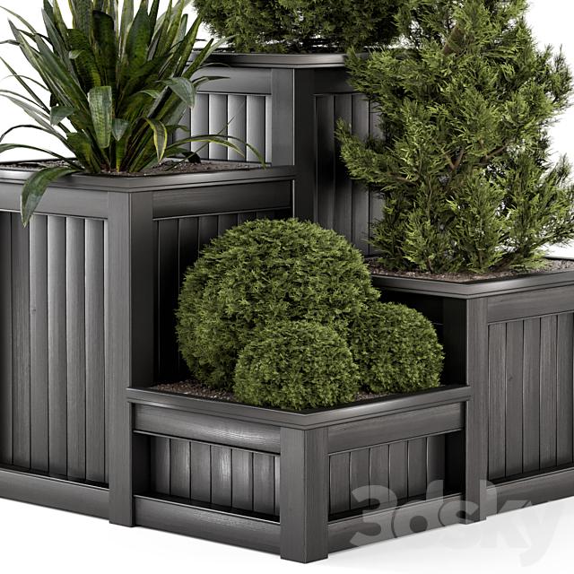 Outdoor Garden set bush and Tree - Garden Set 194
