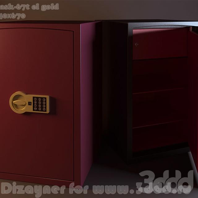 Сейф ask-67t el gold