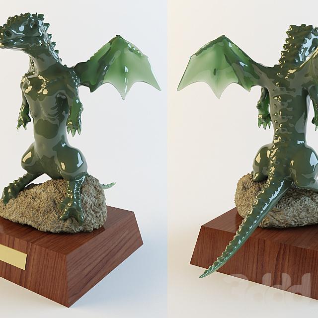 Изумрудный дракончик