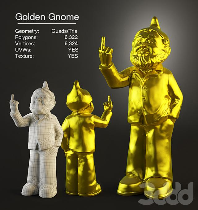 Golden Gnome