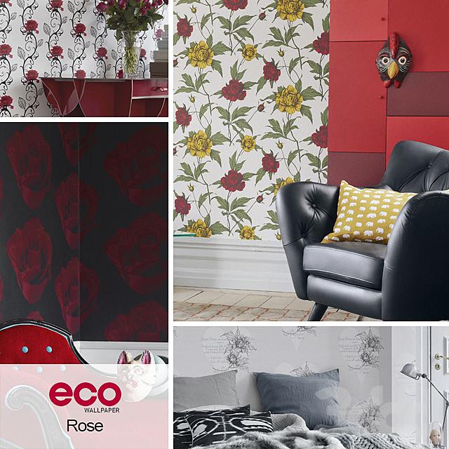 Обои ECO Wallpaper, коллекция Rose