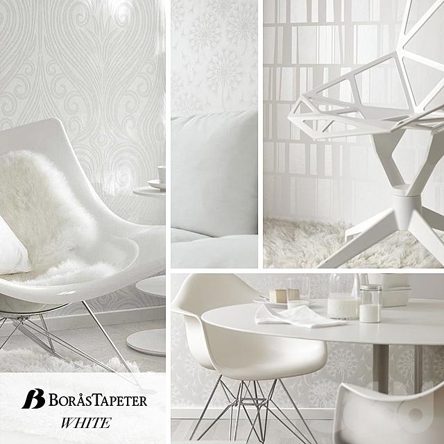 Borastapeter, коллекция White