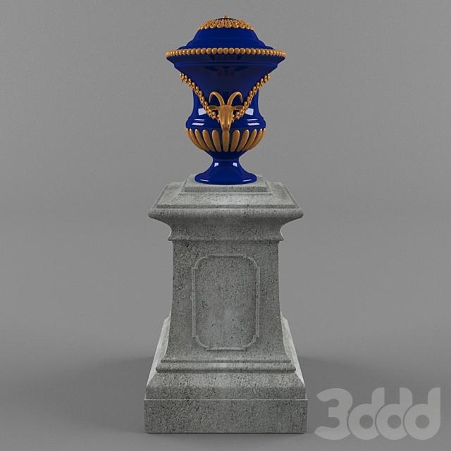 Парковая ваза