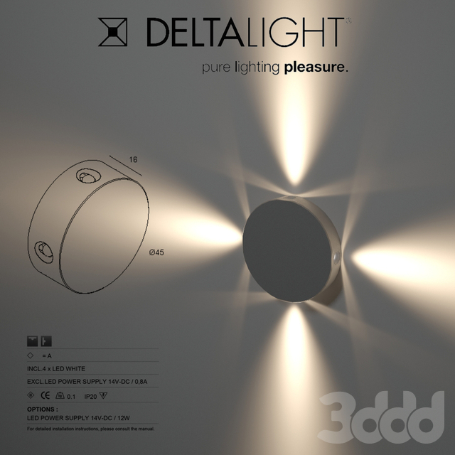 Delta light, PUK 4 WW, 301 00 05
