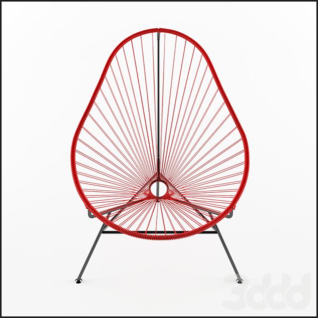 Acapulco Chair красный