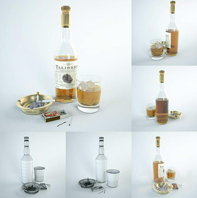 """Декор, набор: """"Гламурный алкоголик"""""""