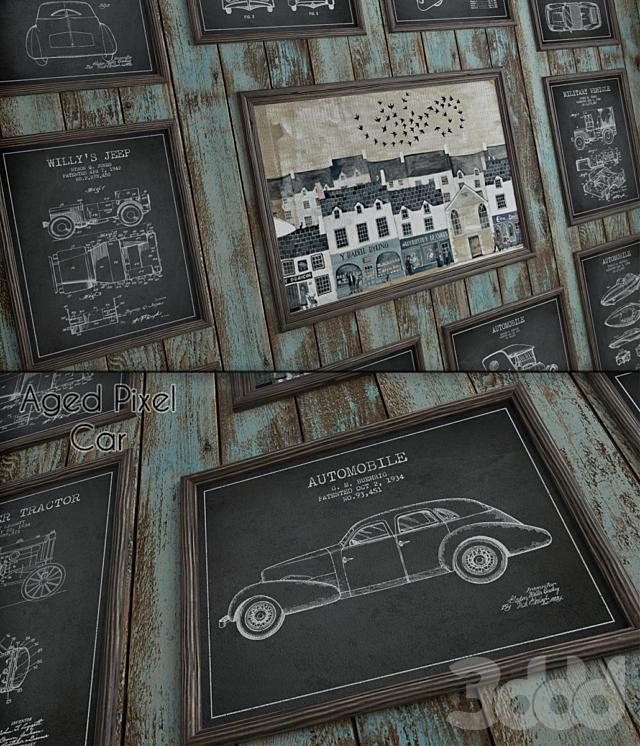 "Aged Pixel ""Car"""