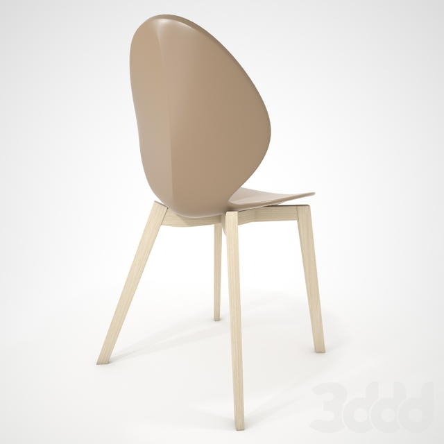 Calligaris Basil Timber Chair