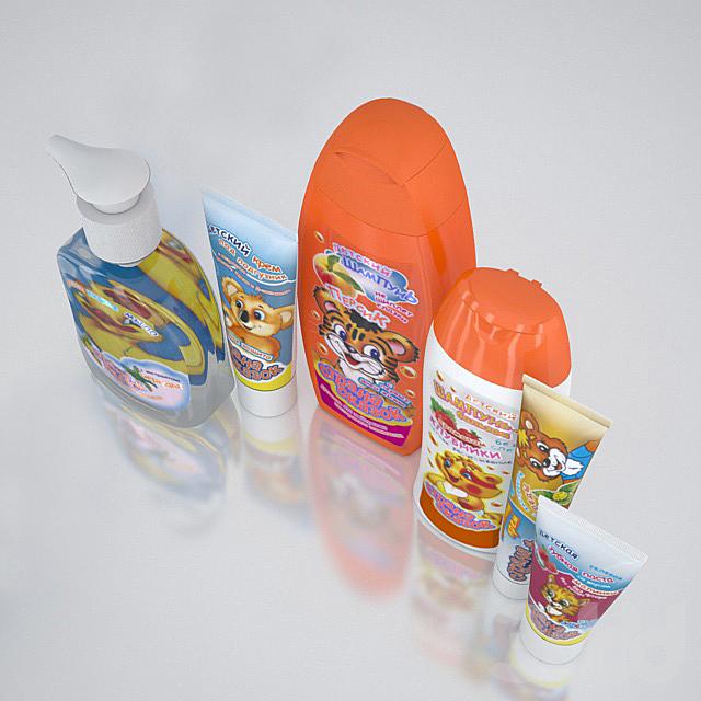 Детская косметика для ванной комнаты
