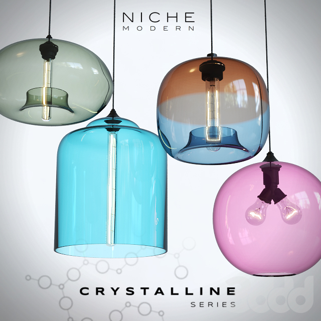 Подвесные светильники Niche Crystalline - 2