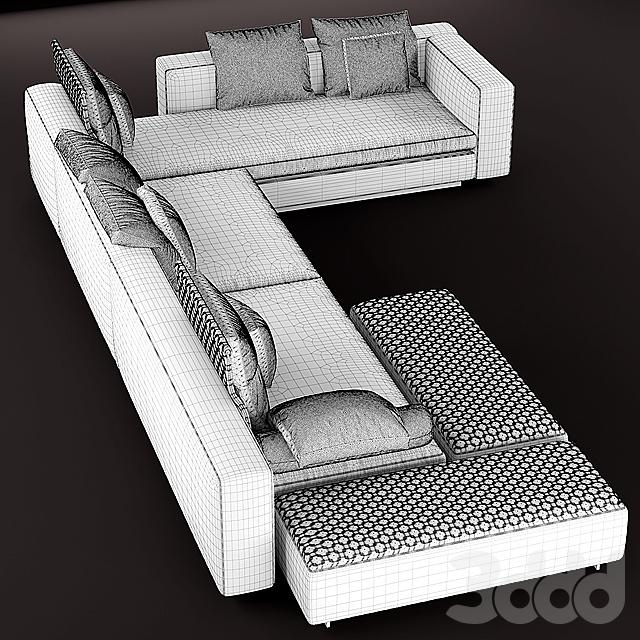 Диван Yang Modular Sofa Minotti