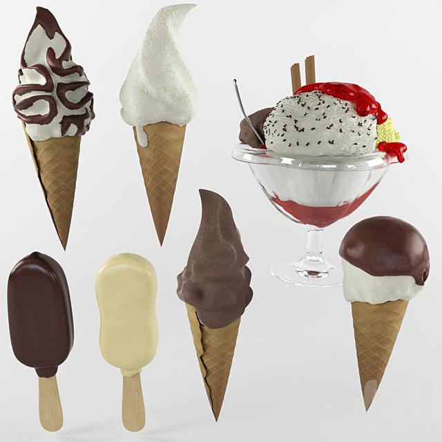 Картинки название мороженого