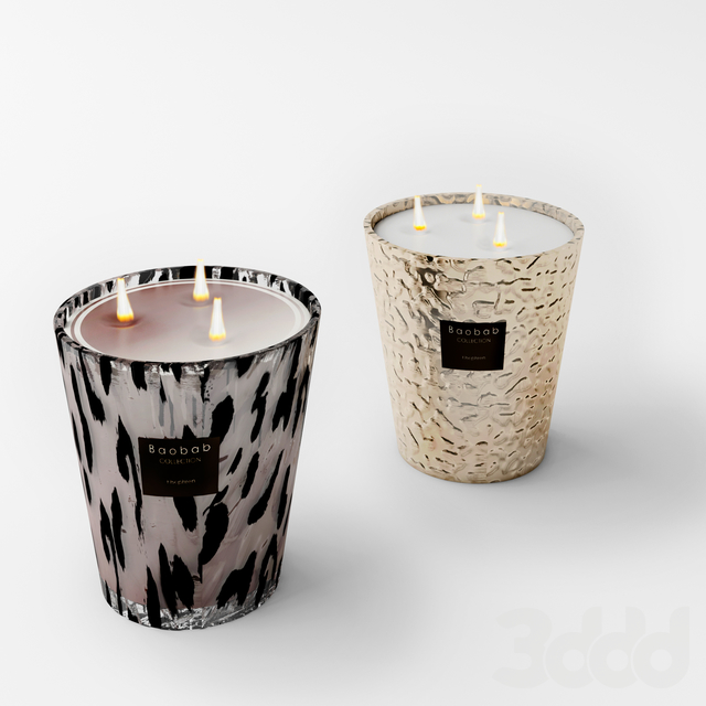 Candles Boabab Collection
